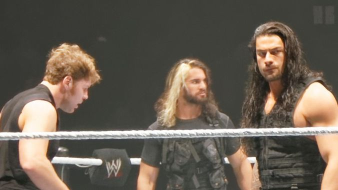 The Shield Royal Rumble 2014