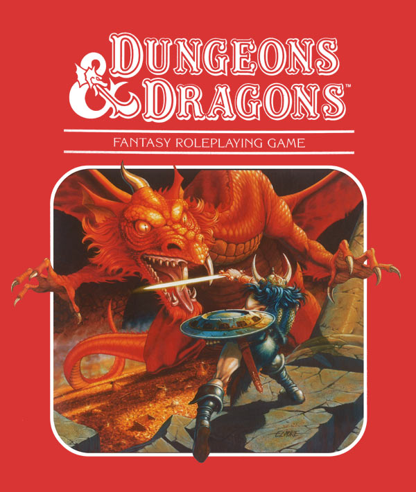 Dungeons and Dragons 40th Anniversary