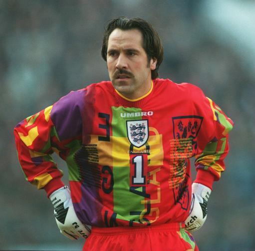 David Seaman Euro 96 kit