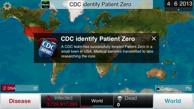 Plague Inc mobile game