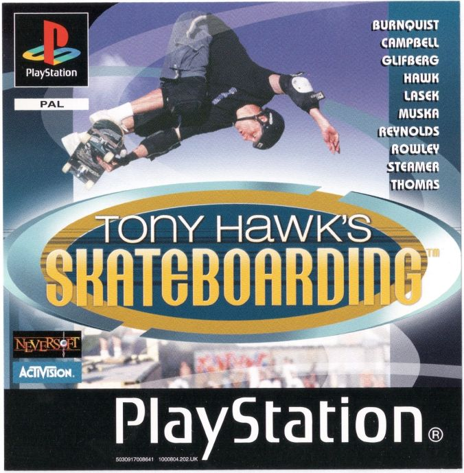 THPS1 Tony Hawk's Skateboarding