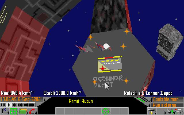 Frontier Elite II Amiga