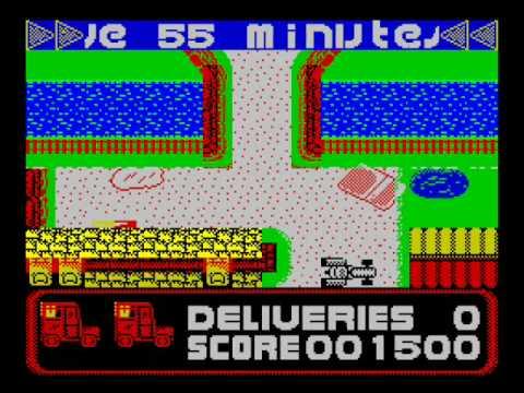 Postman Pat ZX Spectrum
