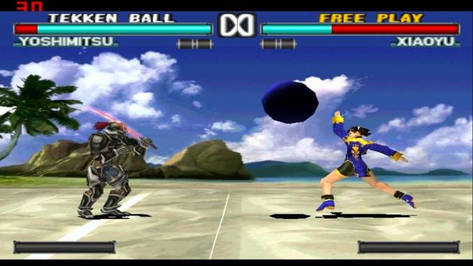 Tekken 3 Beach Ball Mode