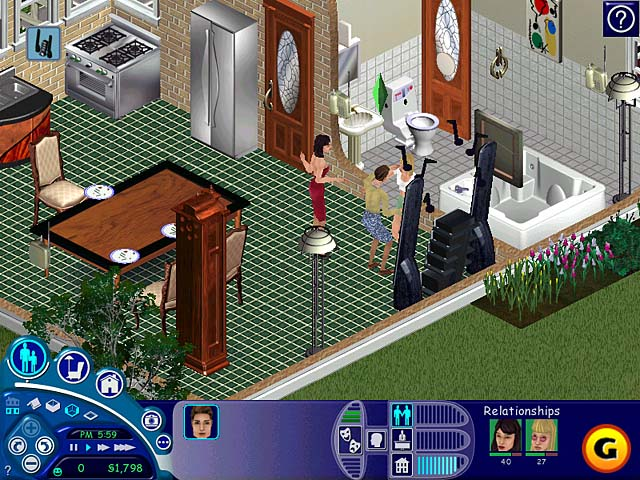 The Sims PC 2000