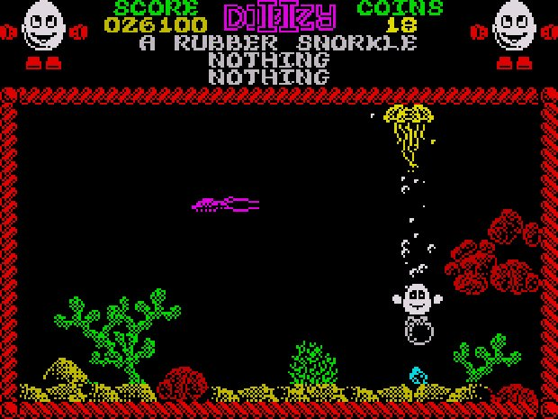 Treasure Island Dizzy ZX Spectrum