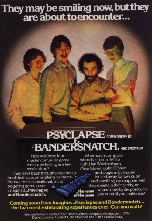 Imagine Software Bandersnatch