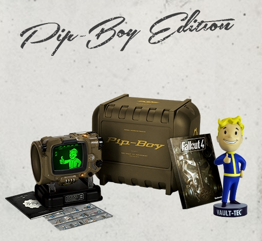fallout 4 pip boy collectors edition