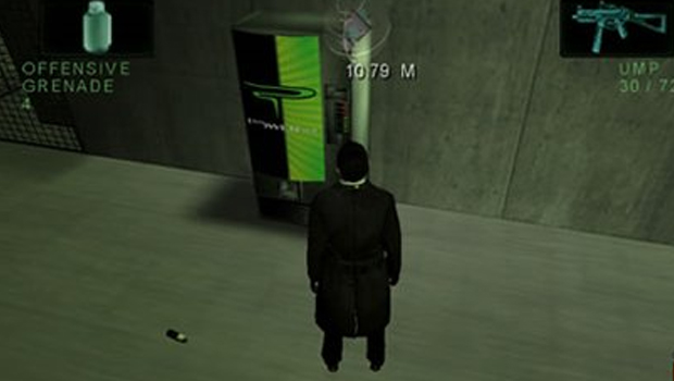 the matrix video game powerade product placement