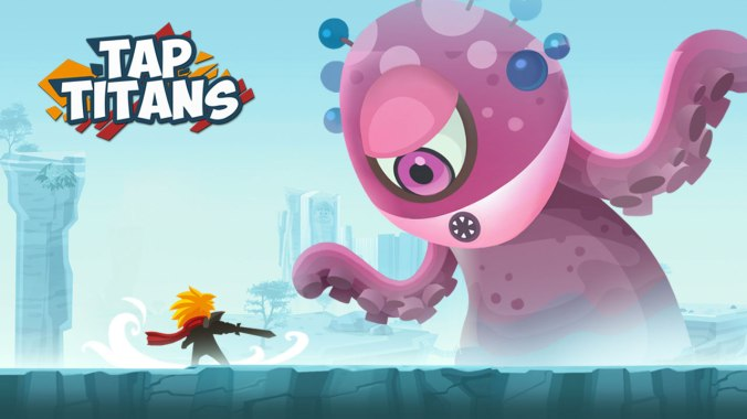 tap titans mobile game