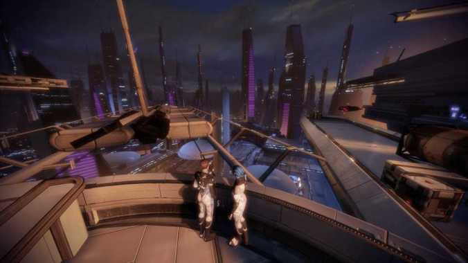 mass effect 2 ilium view