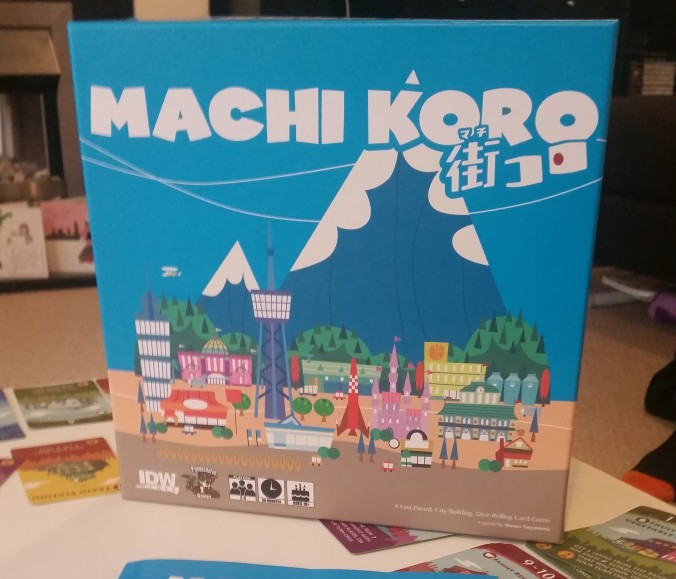 Machi Koro board game review
